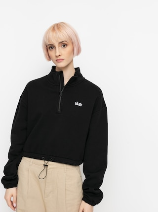 Vans Left Chest Half Zip Sweatshirt Wmn (black)