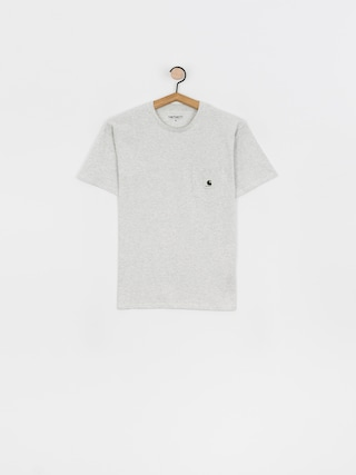 Carhartt WIP Pocket T-shirt Wmn (ash heather)