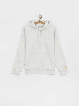 Carhartt WIP Chase HD Hoodie (ash heather/gold)