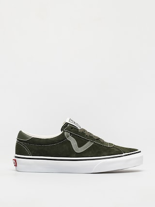 Vans Sport Shoes (pig suede olive/true white)