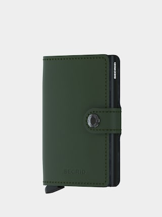 Secrid Miniwallet Wallet (matte green/black)