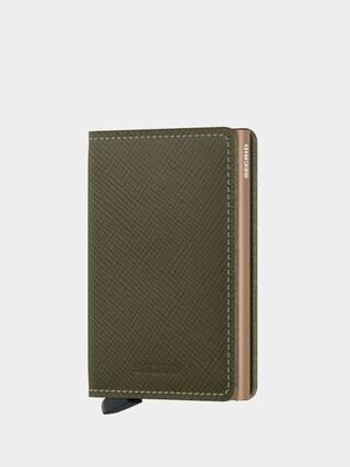Secrid Slimwallet Wallet (saffiano olive)