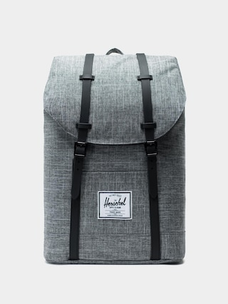 Herschel Supply Co. Backpack Little America (raven crosshatch/black rubber)