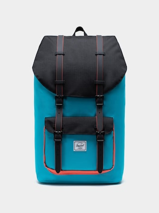 Herschel Supply Co. Little America Backpack (blue bird/black/emberglow)