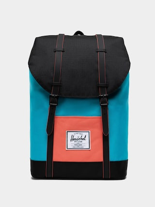 Herschel Supply Co. Retreat Backpack (blue bird/black/emberglow)