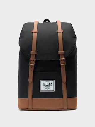 Herschel Supply Co. Retreat Backpack (black/saddle brown)