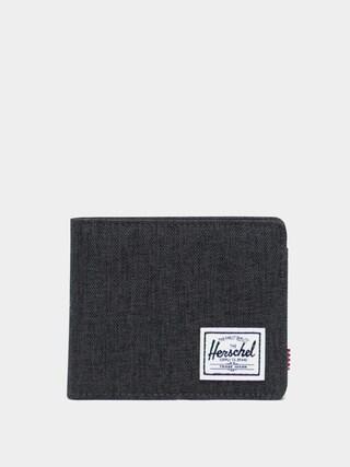 Herschel Supply Co. Roy Coin RFID Wallet (black crosshatch)