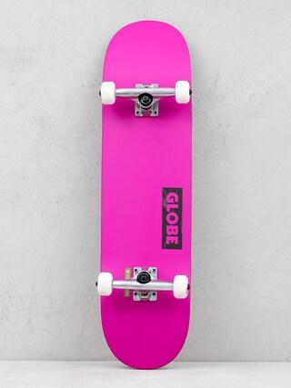 Globe Goodstock Skateboard (neon purple)