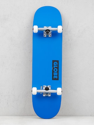 Globe Goodstock Skateboard (neon blue)