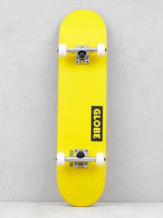 Globe Goodstock Skateboard (neon yellow)