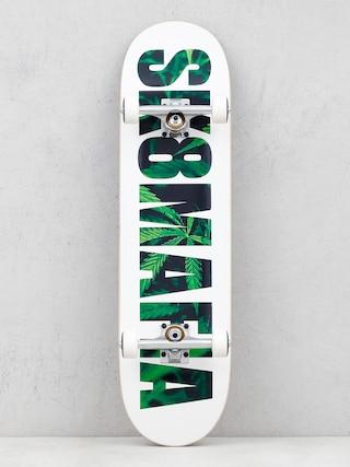 Sk8Mafia Og Logo Skateboard (leaves)