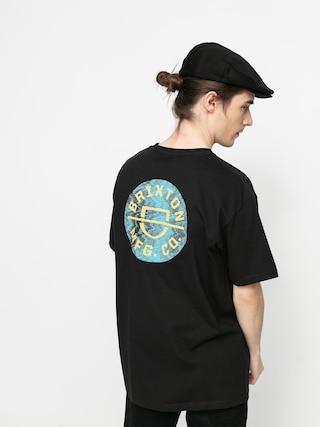 Brixton Crest II Stt T-shirt (black/yellow)
