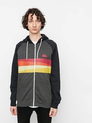 Quiksilver Everyday Screen ZHD Hoodie (dark grey heather)