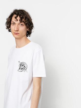 Quiksilver Summer Skull T-shirt (white)