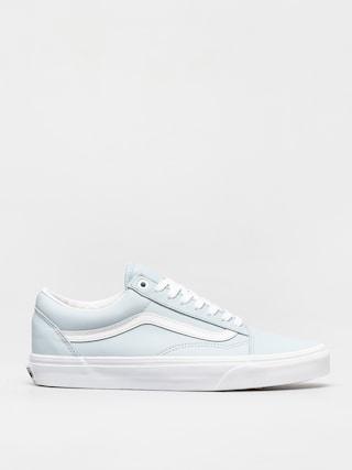 Vans Old Skool Shoes (leather ballad blue/true white)