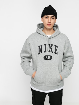 Nike SB Collegiate HD Hoodie (dk grey heather/black)