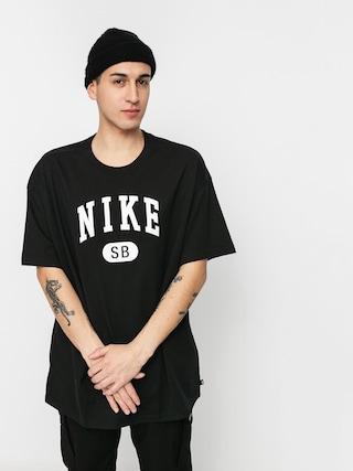 Nike SB Collegiate T-shirt (black/white)