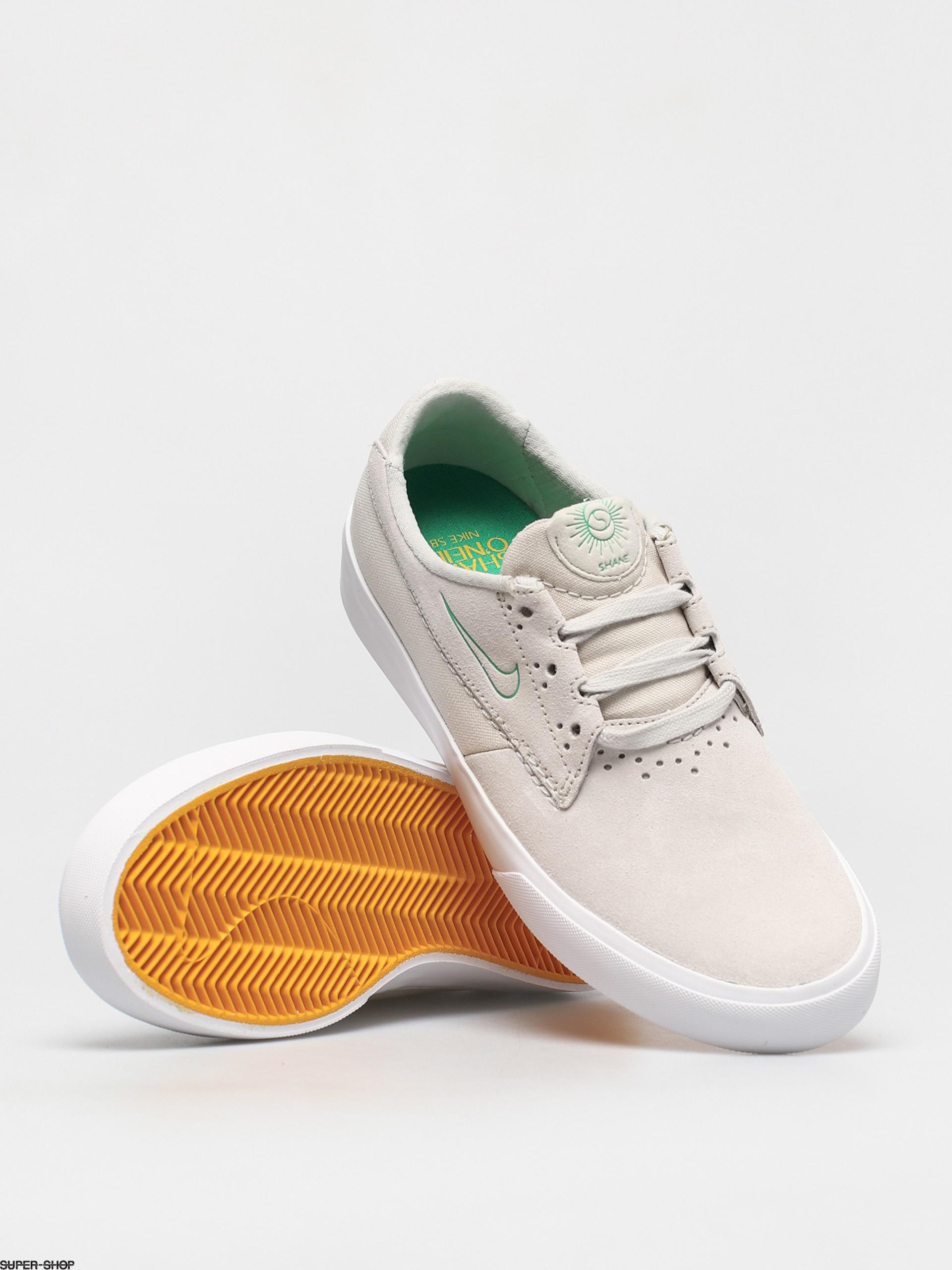 Nike SB Shane Shoes (summit white/lucky green university gold)