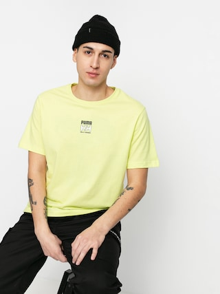 Puma X Helly Hansen T-shirt (sunny lime)