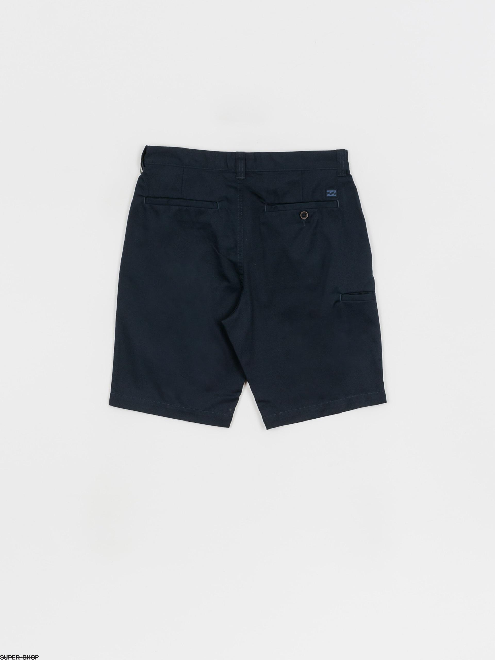Billabong Carter Chino Shorts in Navy