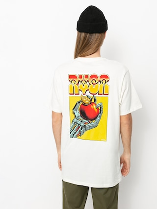 RVCA Applerobot T-shirt (antique white)