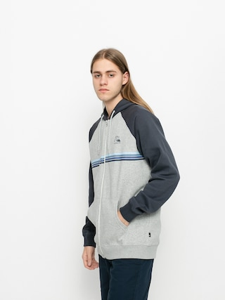 Quiksilver Everyday Screen ZHD Hoodie (light grey heather)
