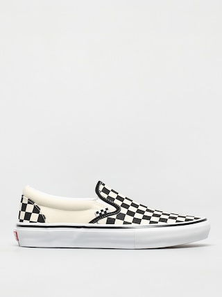 Vans Skate Slip On Shoes (checkerboard black/off white)