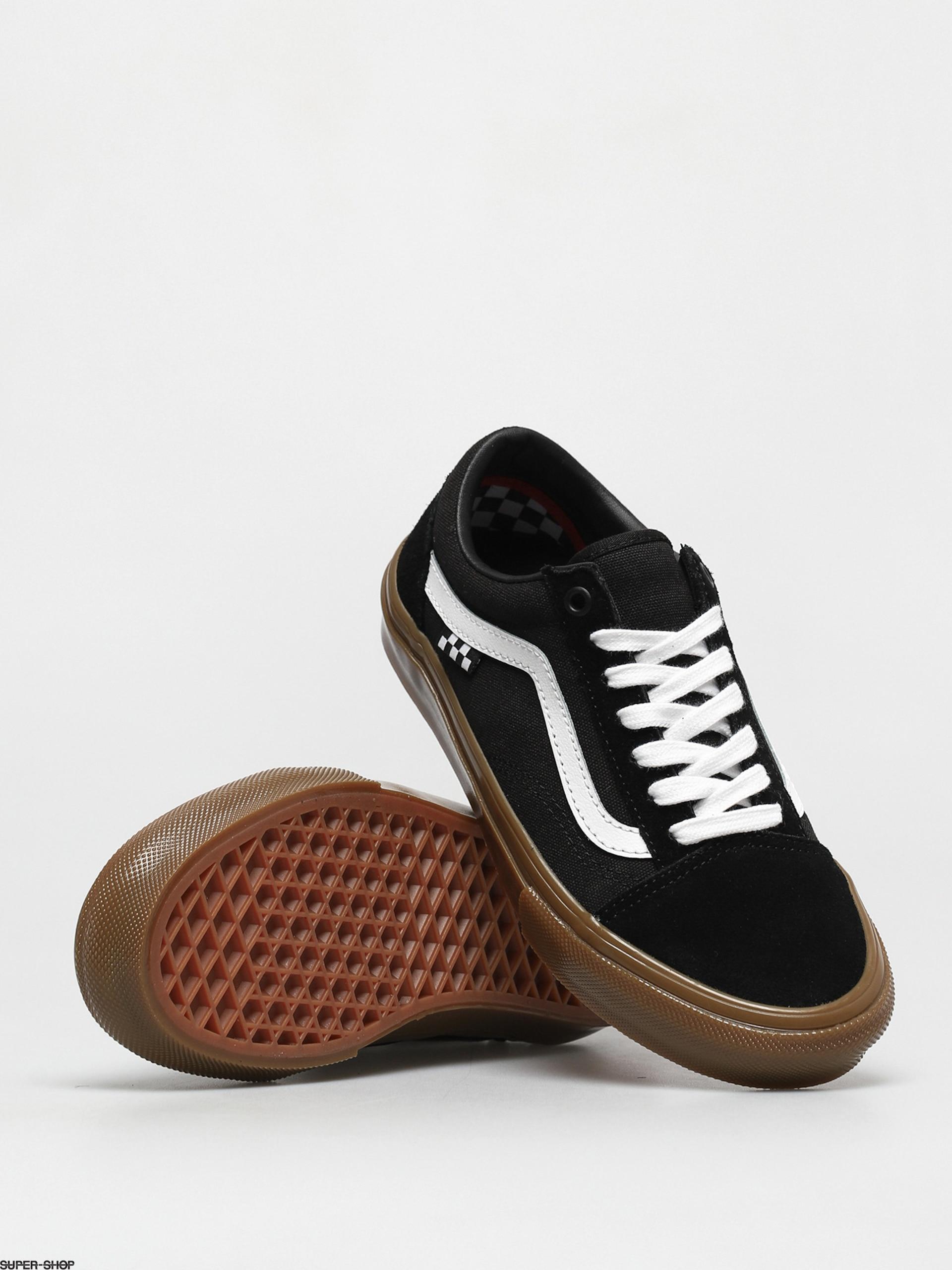 Vans Skate Old Skool Shoes (black/gum)