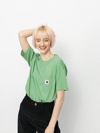 Carhartt WIP Pocket T-shirt Wmn (mineral green)