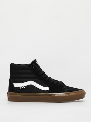 Vans Skate Sk8 Hi Shoes (black/gum)