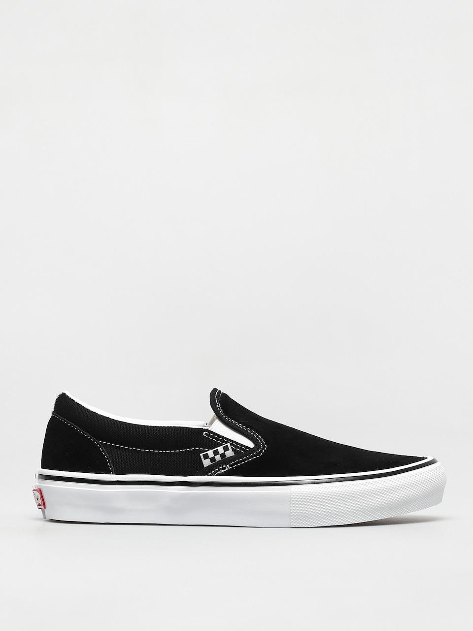 Vans Skate Slip On Shoes (black/white)