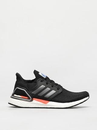 adidas Originals Ultraboost 20 Shoes (cblack/ironmt/fooblu)