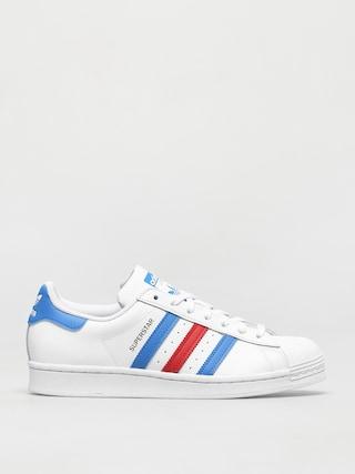 adidas Originals Superstar Shoes (ftwwht/trublu/goldmt)