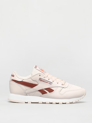 Reebok Cl Lthr Shoes Wmn (cerpnk/white/bakear)