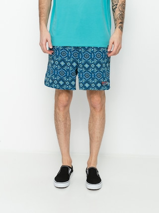 Patagonia Stretch Wavefarer Volley Shorts 16in Boardshorts (honeycomb small/seaport)