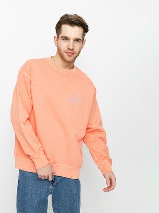 Levi's® Relaxed T2 Graphic Sweatshirt (garment dye coral quartz)