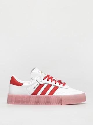 adidas Originals Sambarose Shoes Wmn (ftwwht/vivred/trupnk)