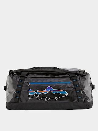Patagonia Black Hole Duffel 55L Bag (black w/fitz trout)