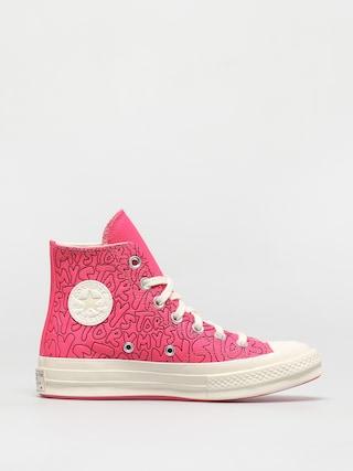 Converse Chuck 70 Hi Chucks (hot pink)