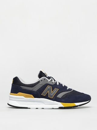 New Balance 997 Shoes (black/gold)