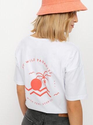 Femi Stories Loose T-shirt Wmn (ecr)