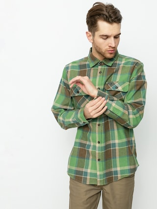Brixton Bowery Flannel Shirt (toffee)