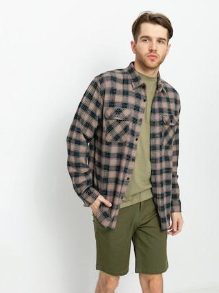 Brixton Bowery Lw X Flannel Shirt (pine bark)