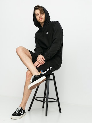Brixton Stem Fleece X Shorts (black)