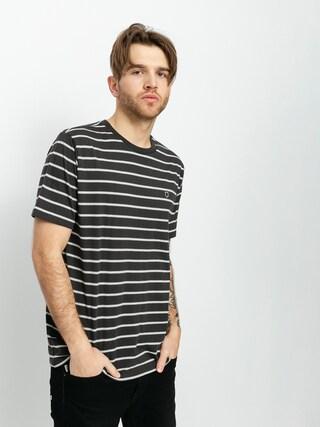 Brixton Hilt Shield Knit T-shirt (washed black)