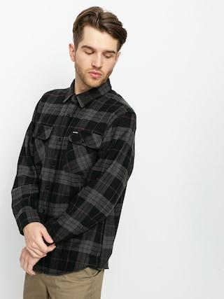Brixton Bowery Flannel Shirt (black/charcoal)