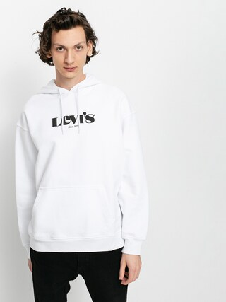 Levi'su00ae T2 Relaxed Graphic HD Hoodie (white)