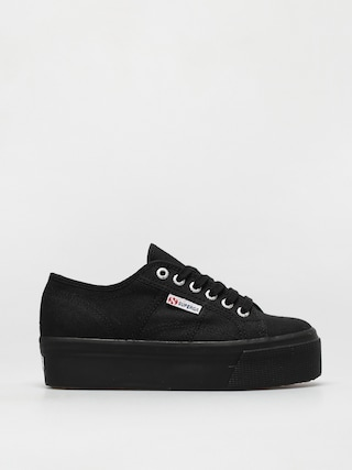 Superga 2790 Acotw Linea Up And Down Shoes Wmn (full black/black)