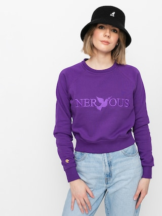 Nervous Classic Crew Sweatshirt Wmn (purple)