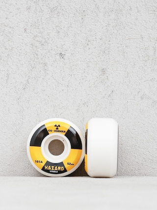 Hazard Radioactive City Street Wheels (white)